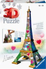 Ravensburger Spieleverlag Ravensburger Eiffeltoren Love Edition - 3D puzzel gebouw - 216 stukjes
