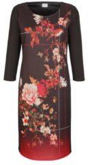 Kleid Alba Moda Schwarz/Rot/Rosé