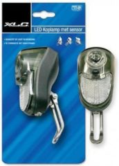 XLC Galaxy koplamp - Naafdynamo - Aan/UIt/Auto - Led - Zwart