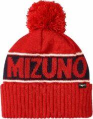 Rode Mizuno Breath Thermo Bobble Hat | Red | 2019