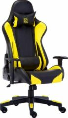 LC-POWER Gaming stoel LC-Power LC-GC-600BY zwart/geel