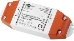 Goobay SET 24-15 LED LED-transformator Constante spanning 0.5 tot 15 W 0.625 A 24 V/DC Niet dimbaar, Geschikt voor meubels