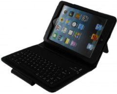 Blauwe Xccess Lederen Case met Bluetooth Keyboard voor Apple iPad Mini/Mini 2 Retina Black