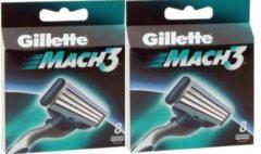 Gillette Mach 3 scheermesjes - 8 stuks