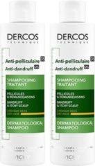 Vichy Dercos Anti-Roos Shampoo voor droog haar - 2x200ml