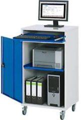 Rau Computer-Schrank Typ 650-M60, stationäre oder mobile Ausführung, B 650 x T 520 x H 1060 mm