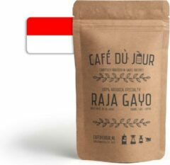 Café du Jour 100% arabica specialiteit Raja Gayo 500 gram vers gebrande koffiebonen
