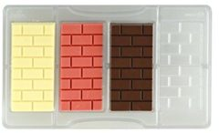 Transparante Chocolade mal stenen muur - Decora