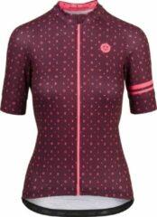 Bordeauxrode AGU Essential Velo Love Jersey Shirt Dames Bordeaux / Kastanjebruin