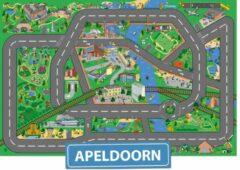 Speelkleed Apeldoorn City-Play - Autokleed - Verkeerskleed - Speelmat Apeldoorn