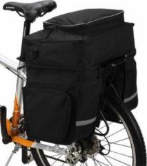 Filmer ALL-In-One Fahrradtasche Gepäckträgertasche inkl. abnehmbarer Tragetasche