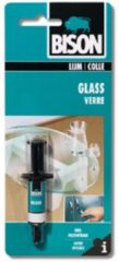 Transparante Bison Glass 2 ml spuit