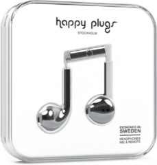 Happy Plugs Earbud Plus - In-ear koptelefoon - Zilver