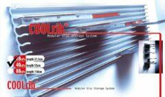 Cleverline Cd rek voor aluminium voor aan de wand | Coolrib voor 40 cd's