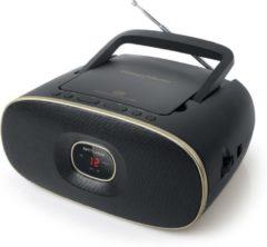 Muse Electronics Muse MD-202 VT - Draagbare radio, CD-speler - zwart