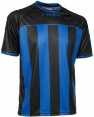 Patrick Coruna Shirt Korte Mouw - Zwart / Royal | Maat: