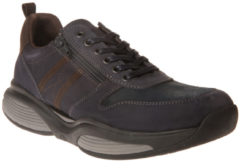 Blauwe Xsensible Stretchwalker Xsensible Veterschoenen
