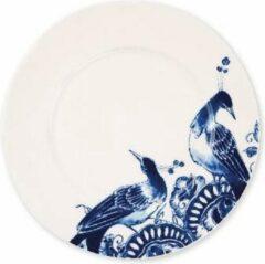 Blauwe ROYAL DELFT - Peacock Symphony - Dessertbord 23,5cm