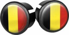 Velox Stuurdoppen België 20 Mm Geel/zwart/rood