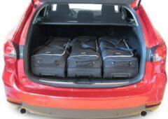 Car-Bags Mazda Mazda6 Wagon (2012-heden) 6-Delige Reistassenset zwart