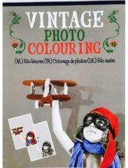 WH kleurboek Vintage junior papier grijs