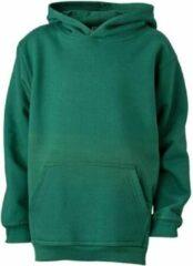 James & Nicholson James and Nicholson Kinderen/Kinderkapjes Sweatshirt (Donkergroen)