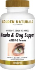 Golden Naturals Macula & Oog Support (60 veganistische tabletten)