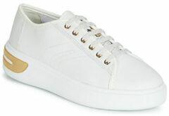 Witte Veterschoenen Geox Ottaya Dames 41