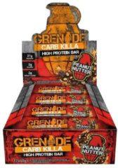 Grenade Carb Killa Bars - Eiwitreep - 1 box (12 eiwitrepen) - Peanut Butter