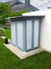 Tuinkast Garten Q Kompakt Gr. 1 lichtgrijs/wit
