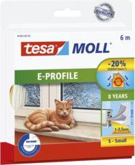 Tesa 05463-00120-00 05463-00120-00 Afdichtingstape tesamoll Wit (l x b) 6 m x 9 mm 1 rol/rollen