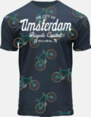 Blauwe Fiets T-shirt Fox Originals