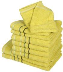 CLASS HOME COLLECTION Handtuchset XXL, grün, 10-teilig