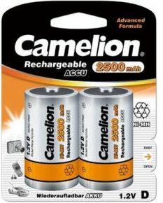 Afbeelding van Oplaadbare D batterij - Camelion