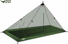 Groene DD Hammocks DD SuperLight - Solo Mesh Tent