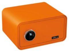 BASI Elektronik-Möbel-Tresor mySafe 430 Fingerprint, orange