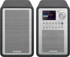 Sangean Set WFR-70 und SP-40, Internetradio mit Zusatzlautsprecher, DAB+, WLAN