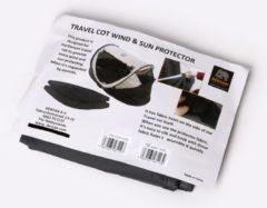 Deryan Baby Luxe Windscreens - Antraciet - UV protected - Windbescherming