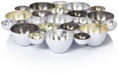IMPRESSIONEN living Teelicht-Schale, Metall