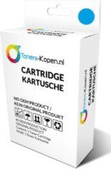 Cyane Toners-kopen.nl HP-364XL HP 364XL CB318EE alternatief - compatible inkt cartridge voor Hp 364xl cyan wit Label Toners-kopen nl