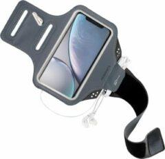 Zwarte Mobiparts Comfort Fit Sport Armband Apple iPhone XR Black