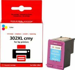 Pixeljet HP 302 XL Toner Cartridge - Zwart, Geel, Cyaan en Magenta