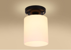 Beige Groenovatie Plafondlamp E27 Fitting - 130x190 mm