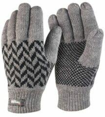 Blauwe Result thinsulate handschoenen grijs voor volwassenen L/XL