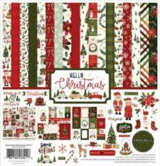 Carta Bella Hello Christmas 12x12 Inch Collection Kit (CBHC124016)