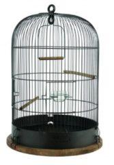 Zolux Retro Vogelkooi Lisette - Vogelverblijven - 380x380x550 mm Bruin