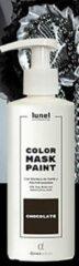 Lunel Kleur haarmasker CHOCOLADE haar verf, gevoed haar, natuurlijke kleur, directe kleur 200ml