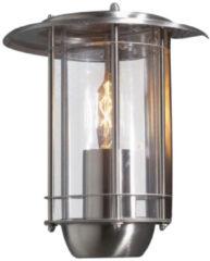 Konstsmide Trento 7565-000 Buitenlamp (wand) Energielabel: Afhankelijk van de lamp Spaarlamp, LED E27 60 W RVS