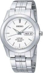 Seiko SGG713P1 - Horloge - 37 mm - Zilverkleurig
