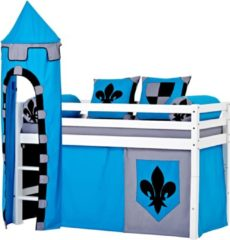Hoppekids Halbhohes Bett »Castle« (3-tlg.)